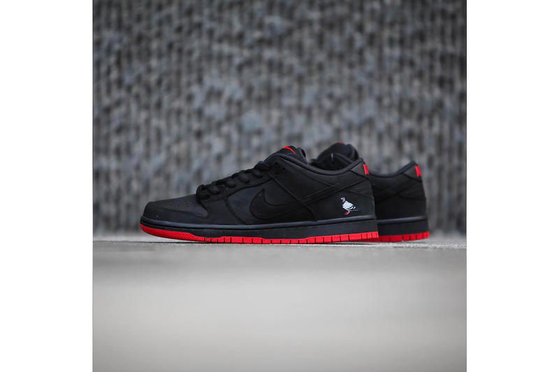 Nike SB Dunk Low Black Pigeon Jeff Staple