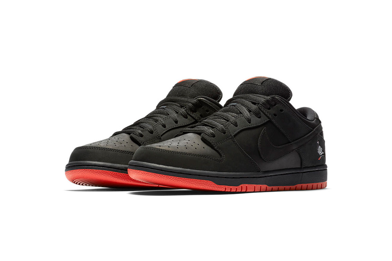 Nike SB Dunk Low Black Pigeon Official