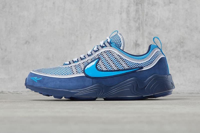 Nike Air Zoom Spiridon x Stash release date footwear blue november 10 nike.com graffiti artist