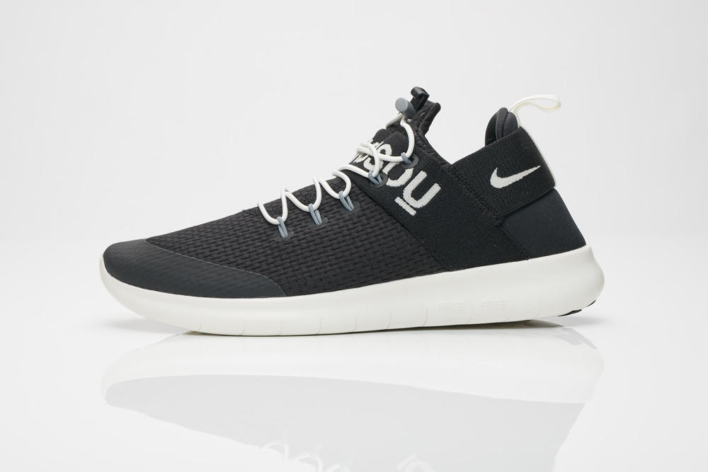 NikeLab GYAKUSOU 2017 Fall Winter Free Run Commuter Mens Womens Black Grey UNDERCOVER Jun Takahashi Sneakersnstuff SNS Shoe Sneaker Collaboration Collection