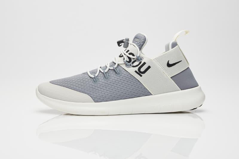 NikeLab GYAKUSOU 2017 Fall Winter Free Run Commuter Mens Womens Black Grey UNDERCOVER Jun Takahashi Sneakersnstuff SNS Shoe Sneaker Collaboration Collection