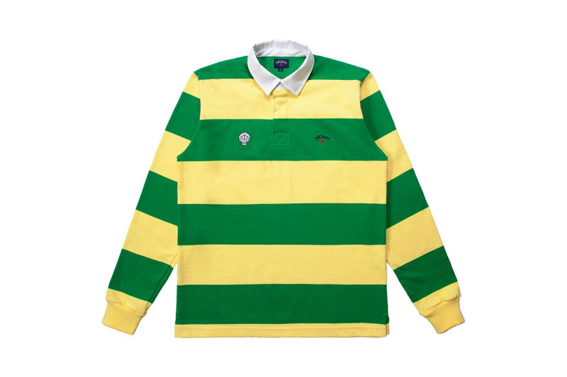 Noah NERD Rugby Top fashion red blue yellow green Release Info Drops Date