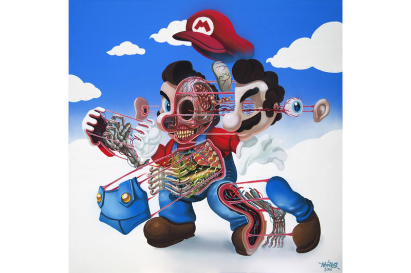 NYCHOS Dissection of Super Mario Print 2017 November 16 Release Date info Nintendo