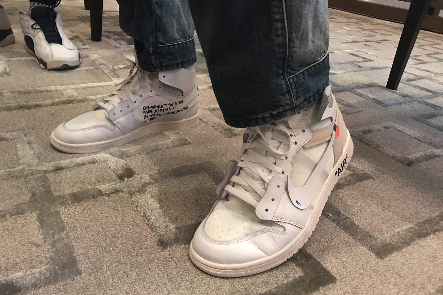 Off-White x Nike Air Jordan 1 White