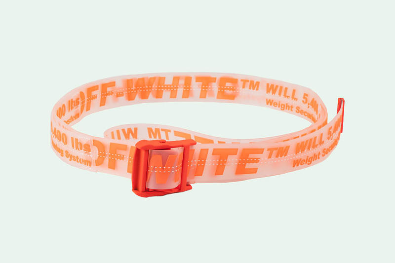 Off White New Items Webstore Timberland fashion footwear belt orange
