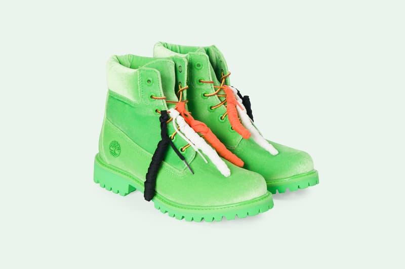 Off White New Items Webstore Timberland fashion footwear belt orange