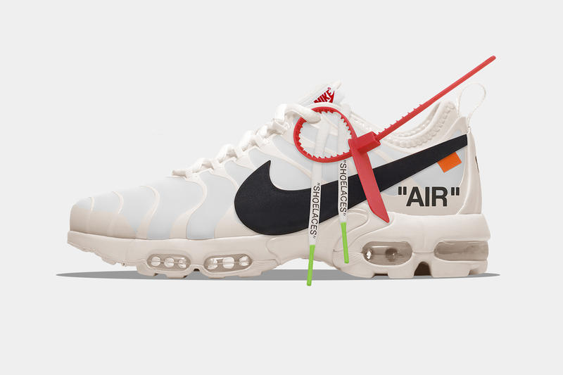 Off-White™ Nike Virgil Abloh Air More Uptempo Nike Air Max Plus Concept The Golden Shape
