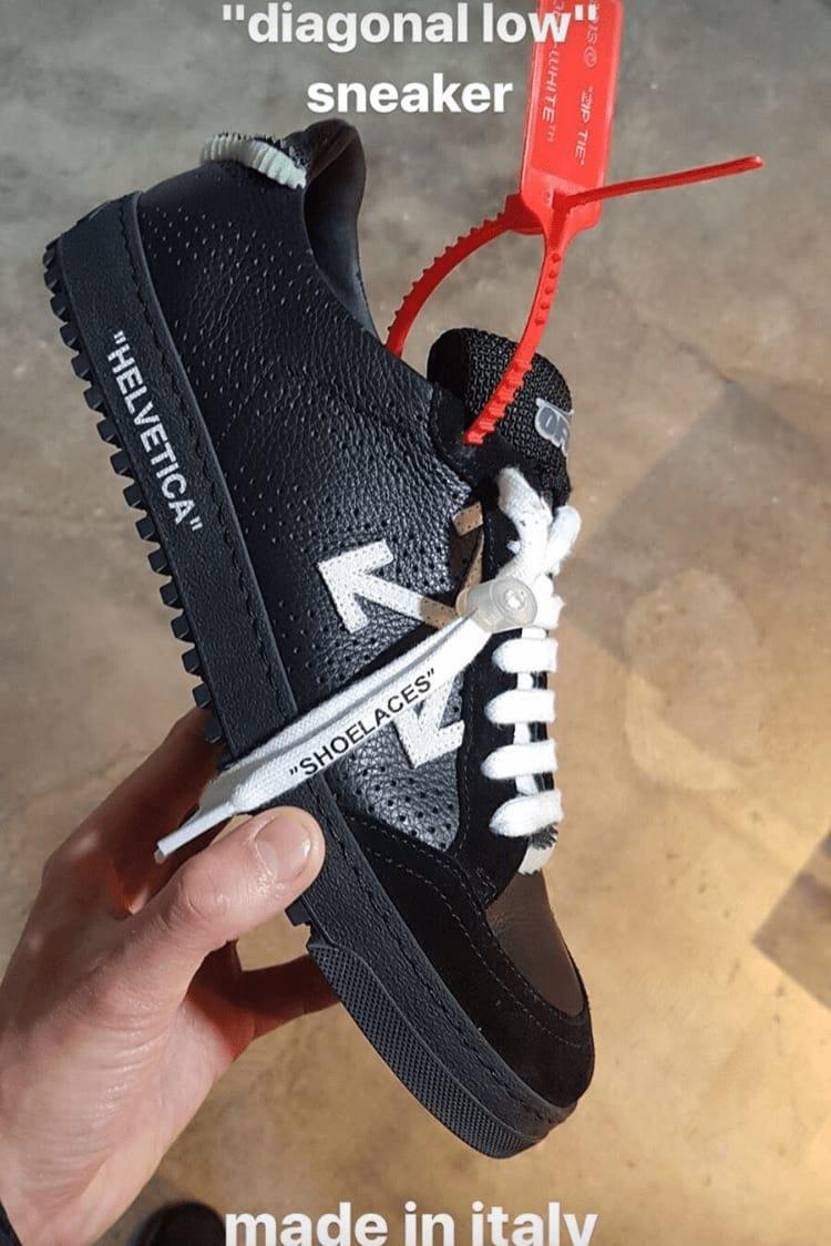 Off-White Spring/Summer 2018 Footwear