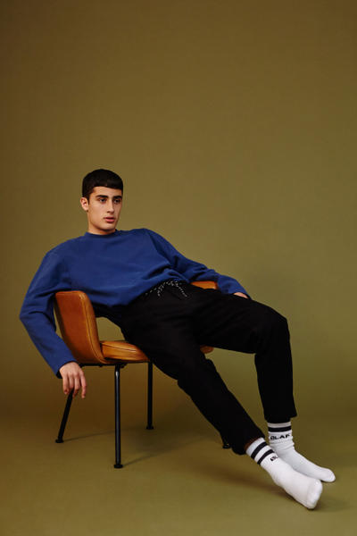 OLAF HUSSEIN  Deadstock Fabrics Second Edition 2017 Fall/Winter Collection Lookbooks