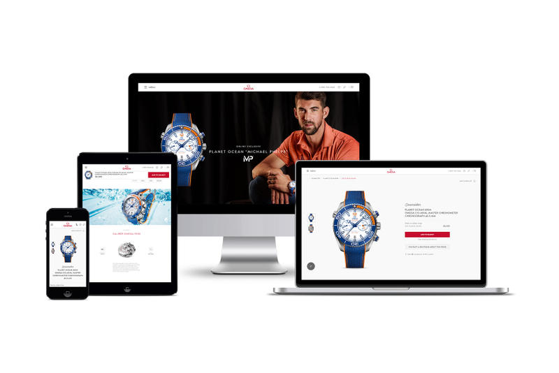 OMEGA E Commerce Launch Online Sales Platform