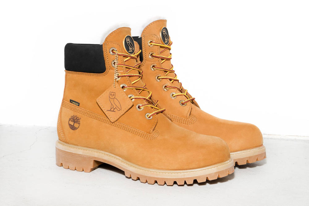 OVO Timberland Premium 6 Inch Boots Wheat Black Octobers Very Own Drake 2017 December 1 Release Date Info Footwear vibram GORE-TEX shearling lining
