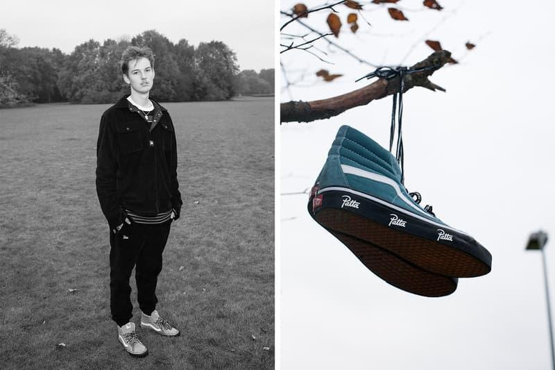Patta x Vans Sk8-Hi Fall/Winter 2017 Mean Eyed Cat sneakers footwear shoes  Langoustine Black Hydro teal brown blue green red rust