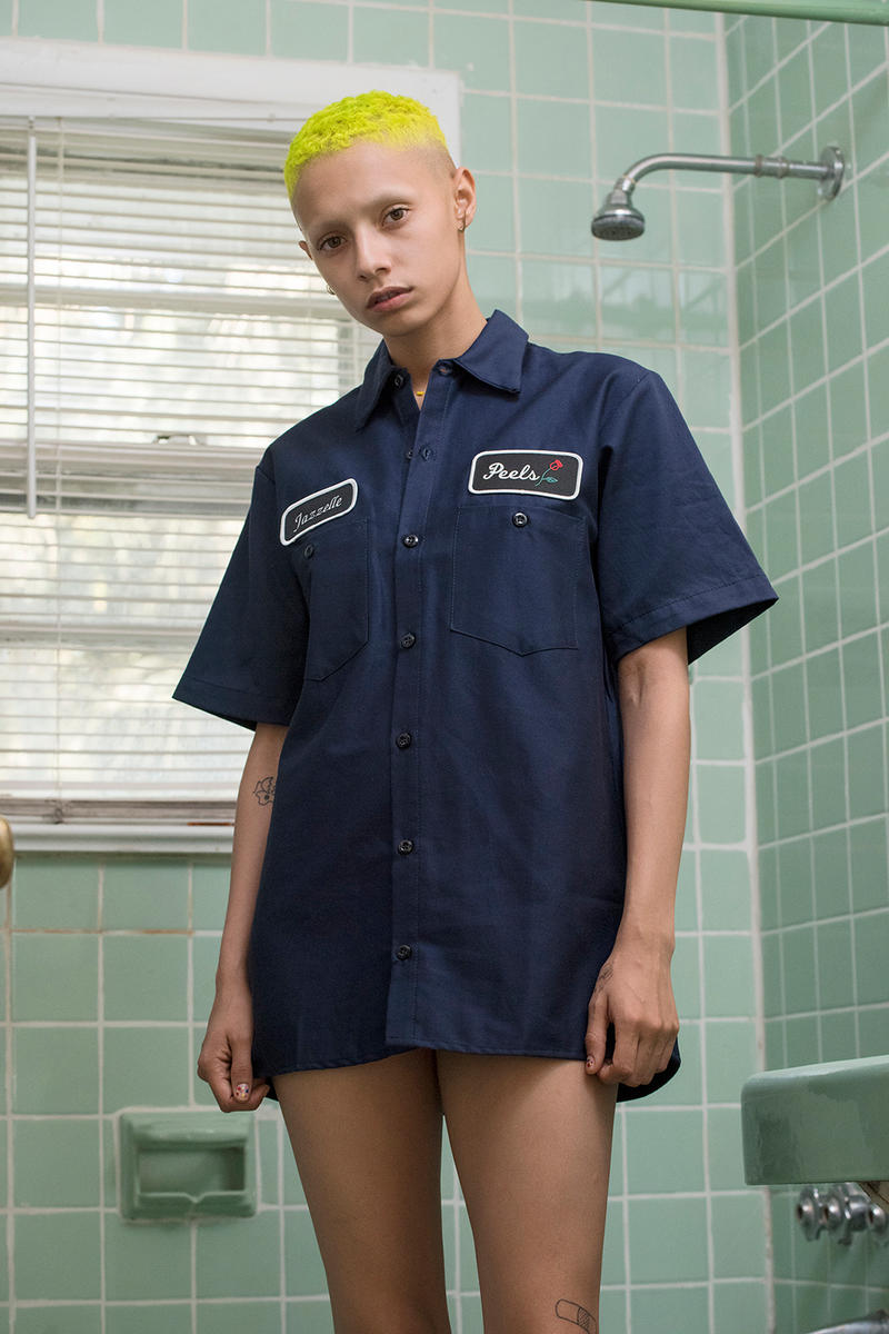 Peels NYC 2018 Spring Summer Lookbook Collection Patches Workshirts Menswear Womenswear
