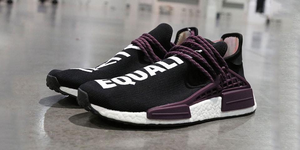 sale retailer 028f1 0e8c2 Pharrell Adidas Hu. NMD Black Canvas Colorway | HYPEBEAST