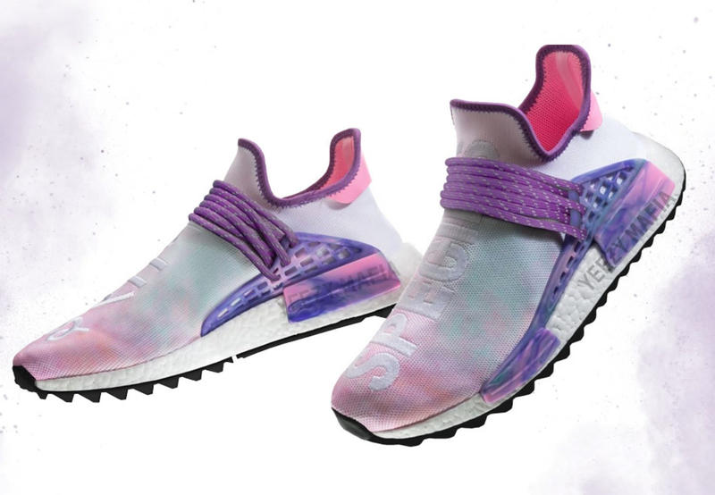 Pharrell x adidas Hu. NMD 'Trail Holi' Pack Hindu