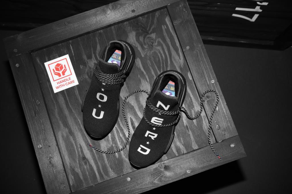 N.E.R.D. x adidas Originals Hu NMD