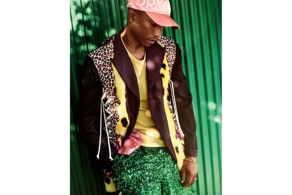 Pharrell Williams December 'Vogue' Issue Mario Testino