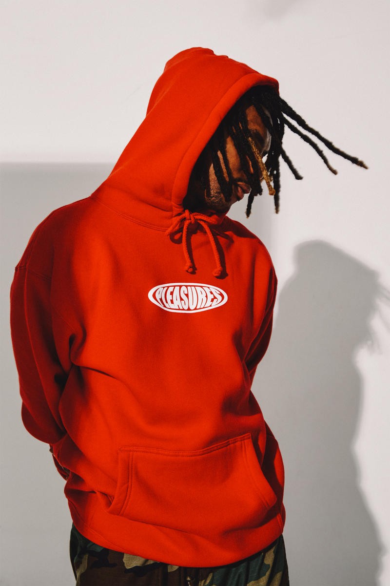PLEASURES YOU Said Tomorrow Yesterday Lookbook fashion fall autumn winter 2017 2018 streetwear outerwear jacket coat hoodie fashion menswear clothing Ebbet's Field Flannel
