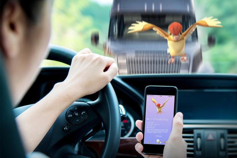 Pokemon GO Car Accidents crashes Totaled Billions 7 7.3 USD Crash Collision Perdue University Study app video game automobile automotive