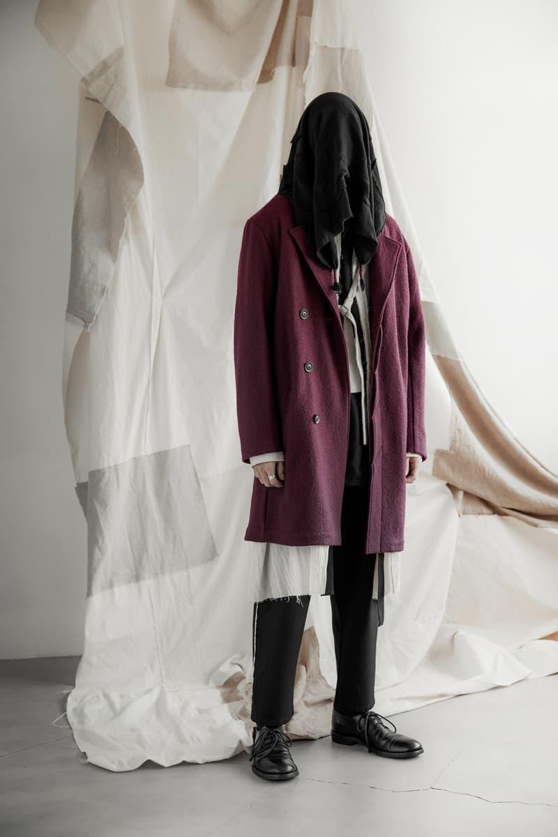 Professor E Fall Winter 2017 Collection Lookbook Taiwan Artisinal