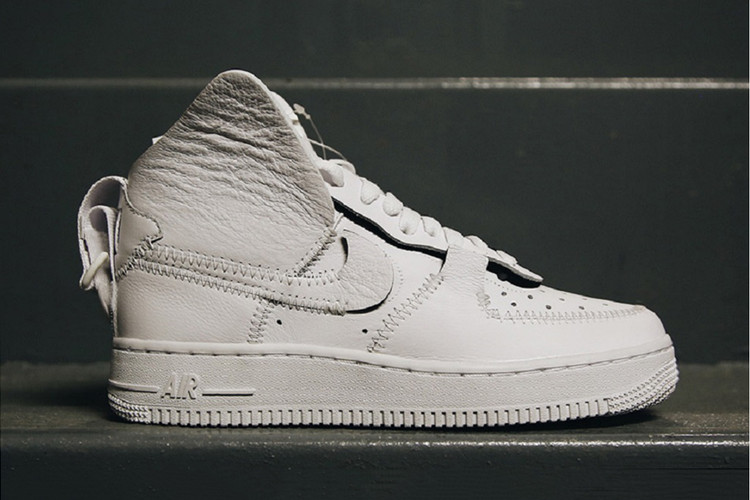 new concept a4397 7efe4 Public School  Nike Officially Unveil White Nike Air Force 1 High Collab