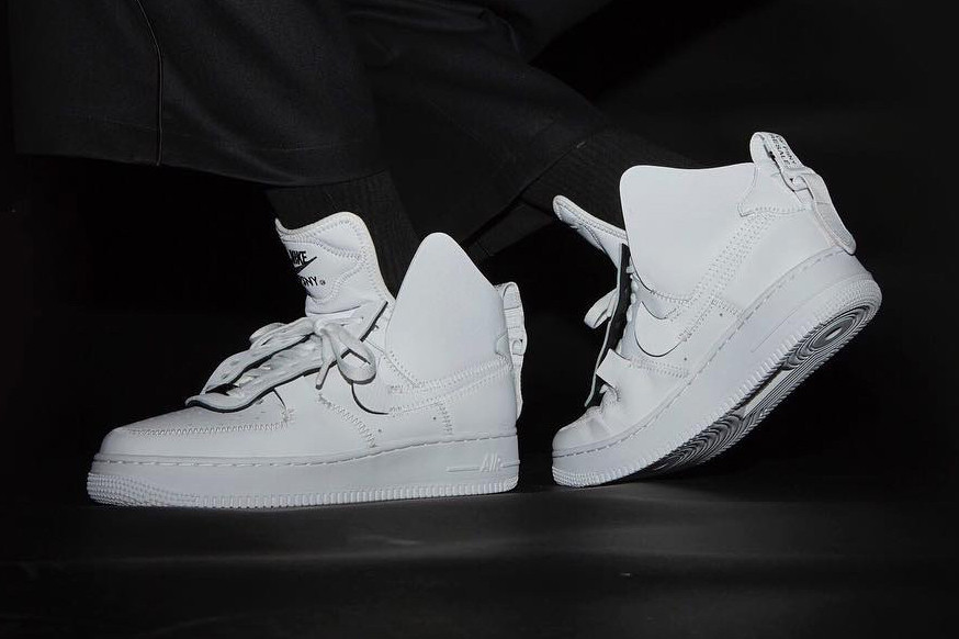 f93d229273bda6 Public School x Nike Air Force 1 High White