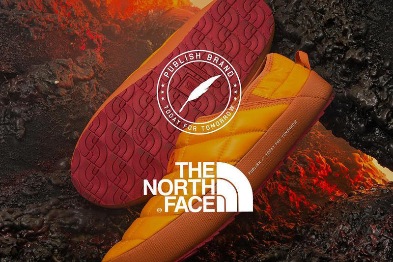 Publish Brand The North Face 2017 Collaboration Teaser Preview Instagram 2017 November 15