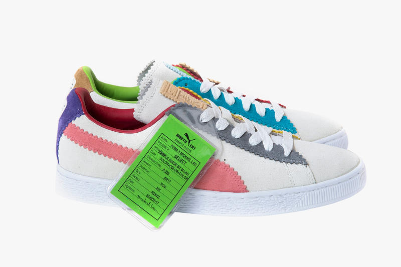 PUMA and Michael Lau Unveil  Sample Suede  Collaboration Artist Worth Cat  Hong Kong Multicolor 64120a803
