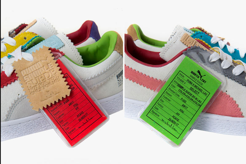 PUMA and Michael Lau Unveil 'Sample Suede' Collaboration Artist Worth Cat Hong Kong Multicolor