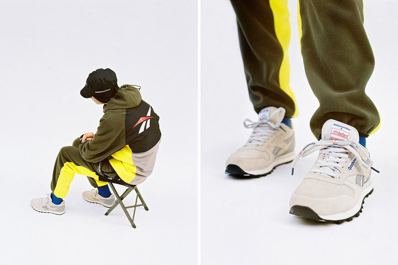 Reebok Vector x thisisneverthat Capsule Collection Fall/Winter 2017