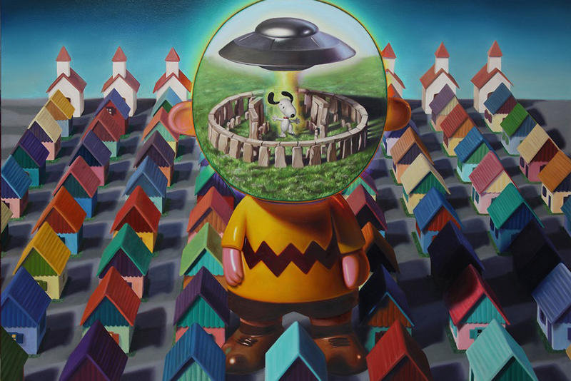 Ron English TOYBOX America in the Visuals Corey Helford Gallery Exhibition 2017 December 2 30 Open