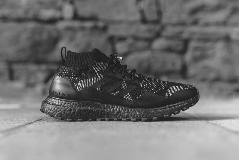 d12123aca7936 Ronnie Fieg nonnative adidas UltraBOOST Mid Black Grey White Footwear  Sneakers