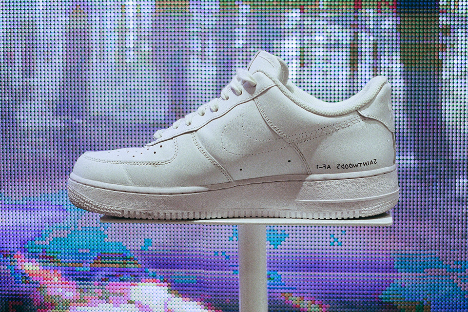 reputable site 9eeaa 1c0df SaintWoods Nike Air Force 1 Low 35th Anniversary   HYPEBEAST