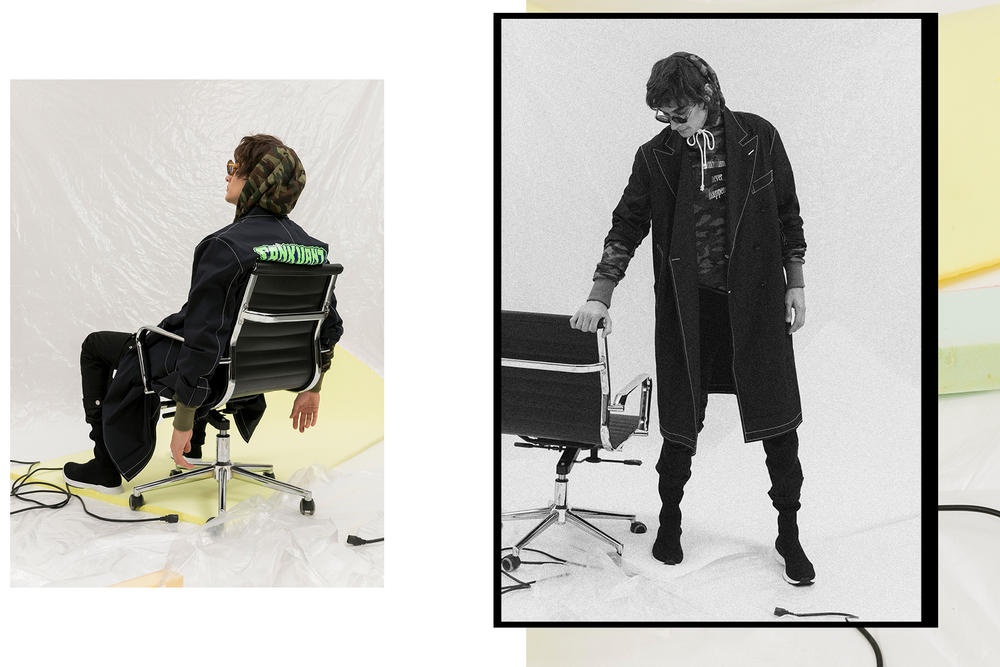 SANKUANZ Editorial HBX 2017 Fall Winter Collection release drop date info graphics China