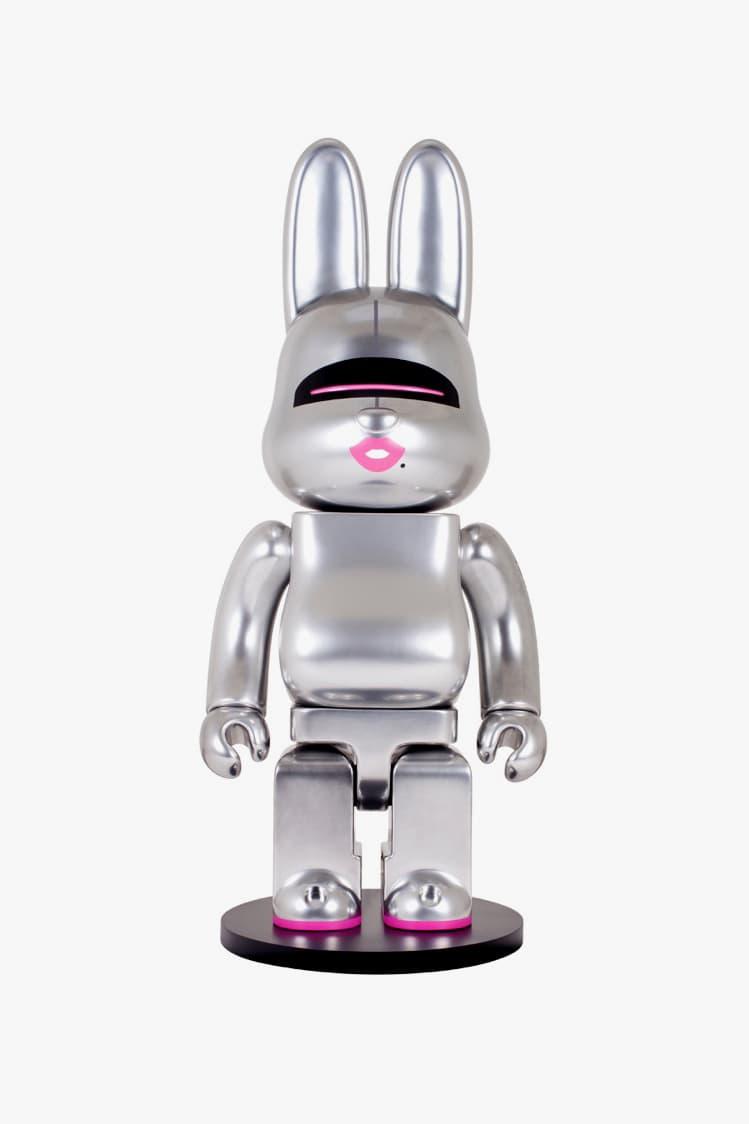 Hajime Sorayama Medicom Toy BE@RBRICK R@BRICK Sawasdee Sexy Robot EchoOne ArtSpace Bangkok Art Collectible Figure Exhibit Show