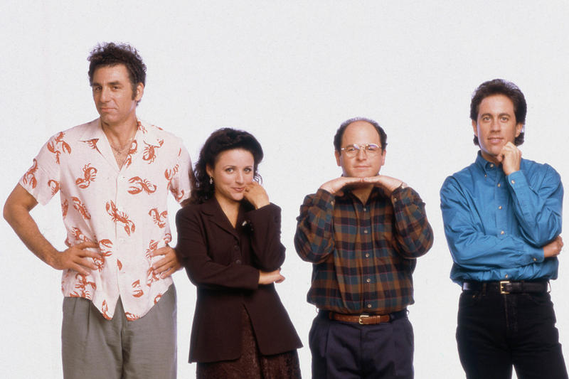 Seingeld Jerry Seinfeld Larry David Julia Louis-Dreyfuss George Costanza Sony Pictures Download Digiital