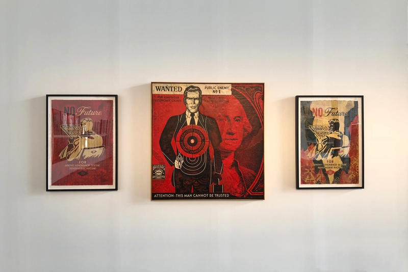 Shepard Fairey Screen Print Art