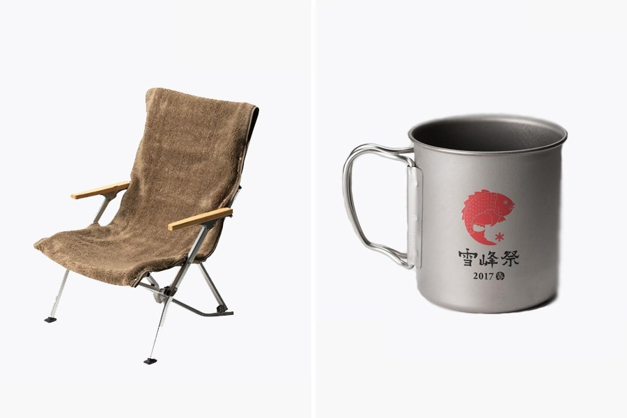 Snow Peak 2017 Holiday Collection L& Chair Tin cup Mug & Snow Peak Holiday 2017 Accessories Collection | HYPEBEAST