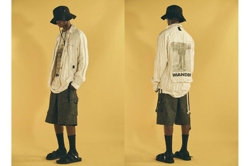 "Song for the Mute 2018 Spring/Summer ""WANDER"" Australia Sandals Socks Kimono Jacket coat bucket hat release date drop info pattern"