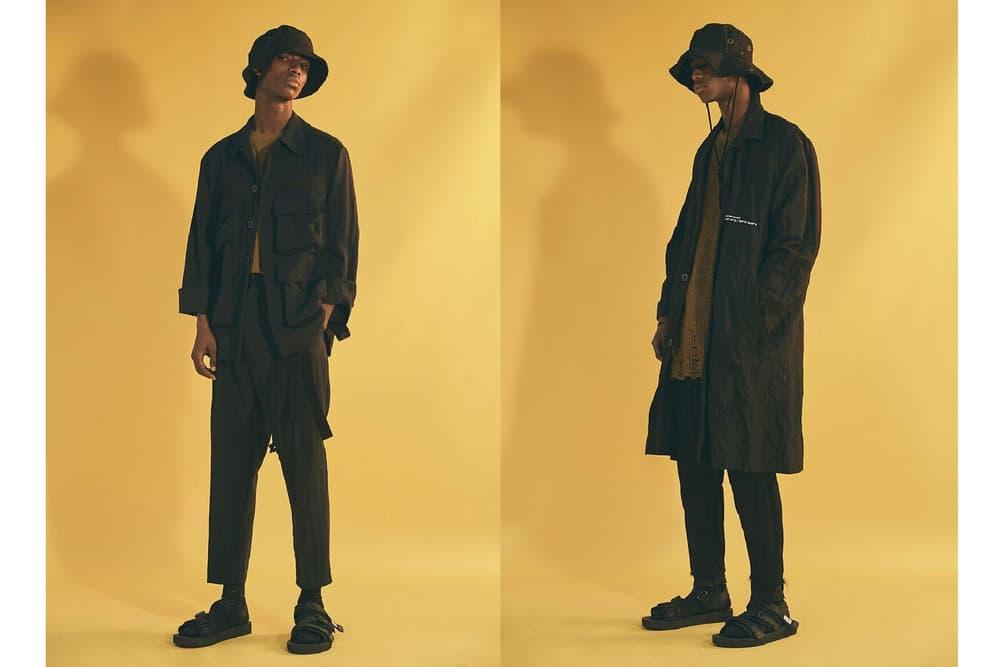 "Song for the Mute 2018 Spring/Summer ""WANDER"" Australia Sandals Socks Kimono Jacket coat bucket hat release date drop info pattern"