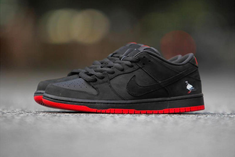 "Staple Pigeon Nike SB Dunk Low ""Black Pigeon"" New York Pop-Up The Reed Space Jeff Staple"