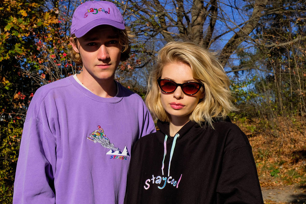 STAYCOOLNYC Fall/Winter 2018 collection lookbook retro '80s '90s sweatshirts