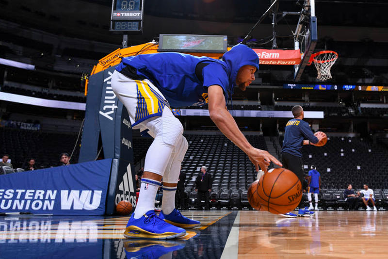 Stephen Curry Under Armour Curry 4 Lows Golden State Warriors