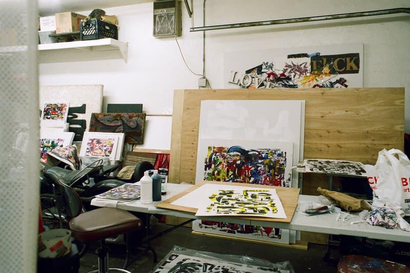 Steve Olson Skateboarding Art Studio Los Angeles