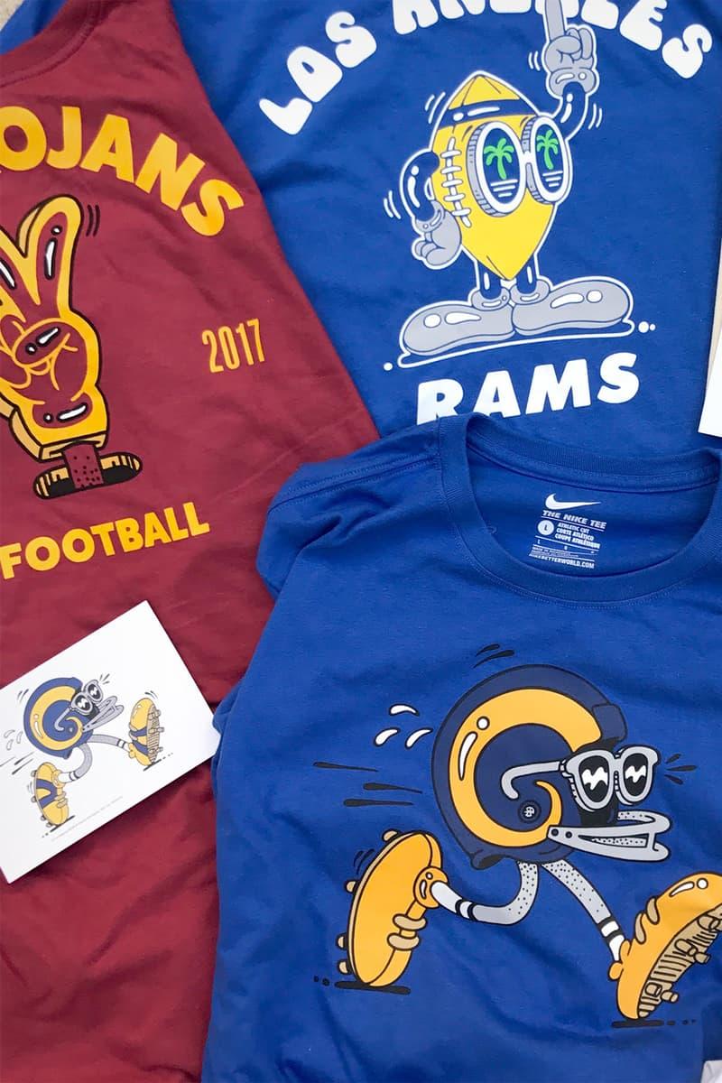 Steven Harrington   Nike Create Official Tees for the LA Rams 92f7617e4