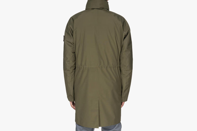 Stone Island 2017 Fall Winter Ghost Piece Capsule Collection Tank Shield Jackets