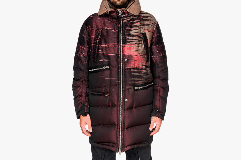 Stone Island Shadow Project Fall Winter 2017 Capo Lungo Vera Piuma Jacquard Parka Errolson Hugh