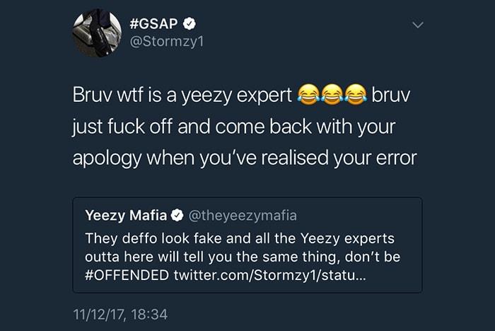 Stormzy YEEZY Mafia adidas Originals Yeezy Boost 350 v2 Jon Wexler