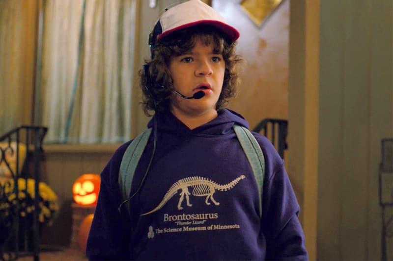 Dustin Purple Brontosaurus Hoodie Stranger Things Season 2 Science Museum Minnesota St Paul