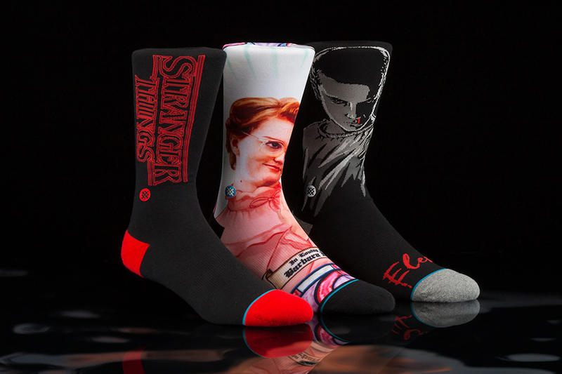 Stranger Things Stance Socks Collection Barb Eleven justice for 11 L netflix season 2